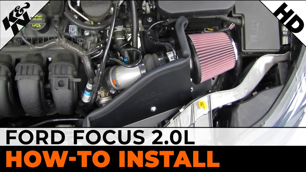 2012 2013 2014 Ford Focus 20l Air Intake Installation Youtube Motor