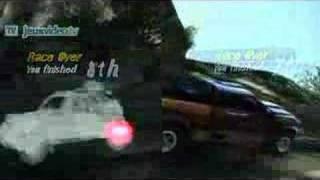 Motorstorm 2 Pacific Rift Split-Screen Gameplay