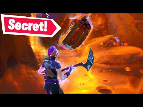 I Went INSIDE The Meteor & Found A SECRET... (Fortnite Season X)
