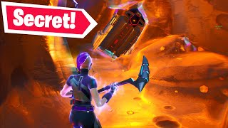 I went INSIDE the meteor & found a SECRET... (Fortnite Season X)