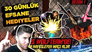 Wolfteam Kafes Ligi -  30 Günlük Full Envanter Hediyeleri!!