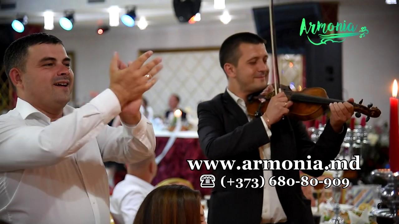 Muzica la nunta ❤️ Formatia Armonia Chisinau ❤️ Program instrumental. NEW 2018 - Nunta moldoveneasca