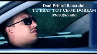 Repeat youtube video DANI PRINTUL BANATULUI - TU ERAI TOT CE-MI DOREAM