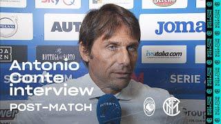 ATALANTA 0-2 INTER | ANTONIO CONTE EXCLUSIVE INTERVIEW: