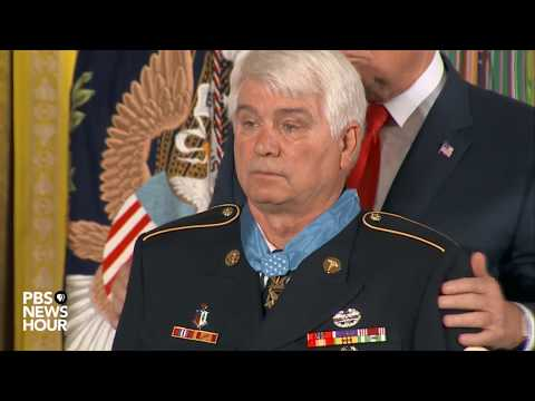 President Trump awards first Medal of Honor to Vietnam Army medic