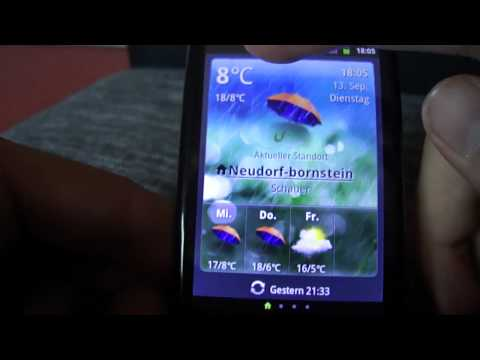 Test:Lidl Android Smartphone (Huawei Ideos X3)[German HD]