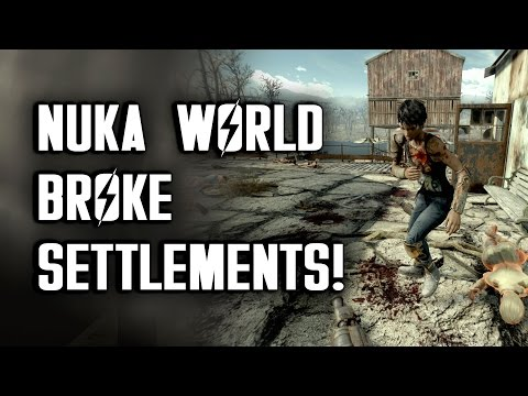 Nuka World Broke Settlements! - Too Many Settlement Attacks