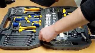 Набор инструментов Kraft 56 предметов(Набор инструментов Kraft 56 предметов Этот набор инструментов Вы можете приобрести в нашем интернет-магазине..., 2014-12-09T12:21:04.000Z)
