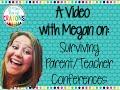 Surviving Parent/Teacher Conferences with Meg's Crayons