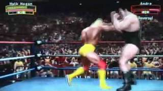 WWE LEGENDS OF WRESTLEMANIA exclusive GAMEPLAY