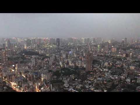 IMG 4621 Roppongi Hills Mori Tower Haze / Dusk 4k