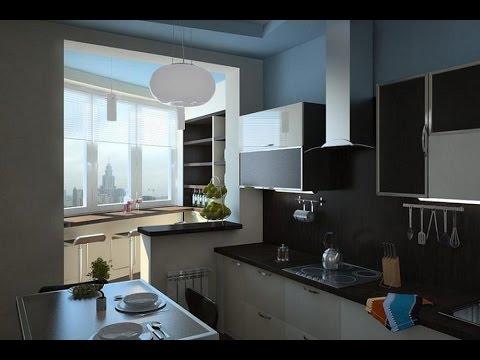 Объединение кухни с балконом утепление балкона