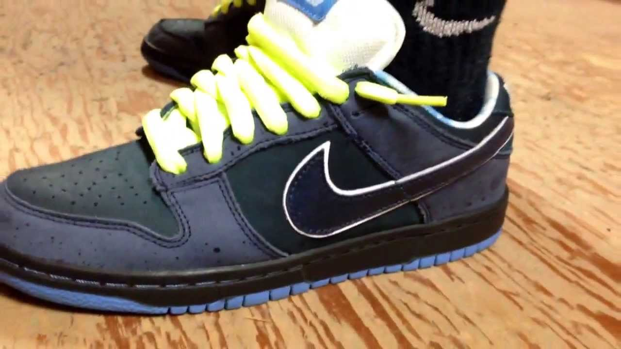 online store 14840 65879 Nike SB Blue Lobster on-feet review