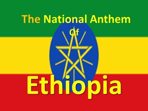 The National Anthem of Ethiopia instrumental with lyrics