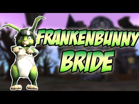 Wizard101: Frankenbunny Bride Pet Showcase