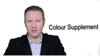 Colour Supplement - Meaning | Pronunciation || Word Wor(l)d - Audio Video Dictionary