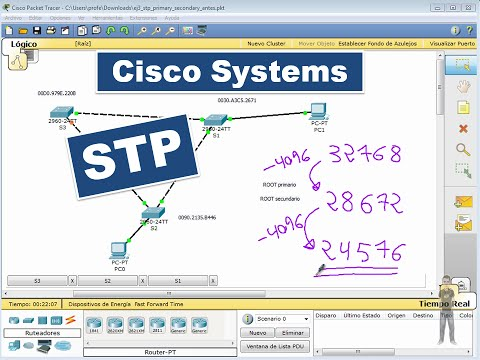 STP04: Cisco Systems. Spanning Tree (STP). Obtener MAC identificativa del Switch.