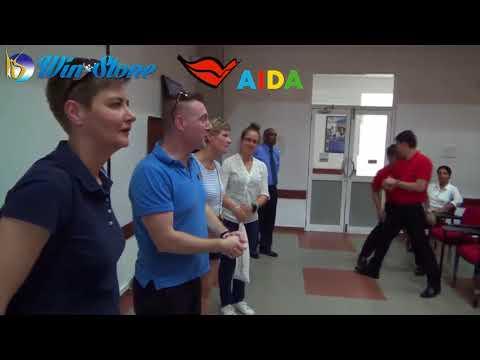 The Warm Welcome AIDA Cruise