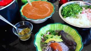 Delicioso frijol con puerco - Comida mexicana - La receta de la abuelita
