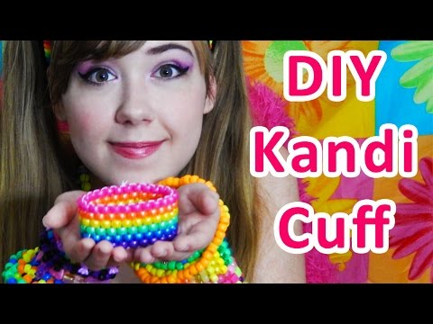 Kandi Cuff Tutorial Even Peyote