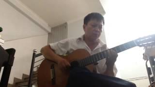 Mùa xuân lá khô  Guitar Solo  Phiên bản Tremolo