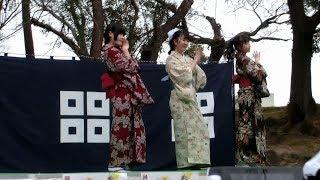 香川発アイドル きみともキャンディ 2018/03/03/ 丸亀市 丸亀城大手門広...