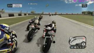 SBK 2011 (PC) Full Simulation Gameplay @ Superstock 1000 - Donington