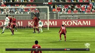 PES 2012 Gameplay Online - Real Madrid vs FC Rubin Kazan