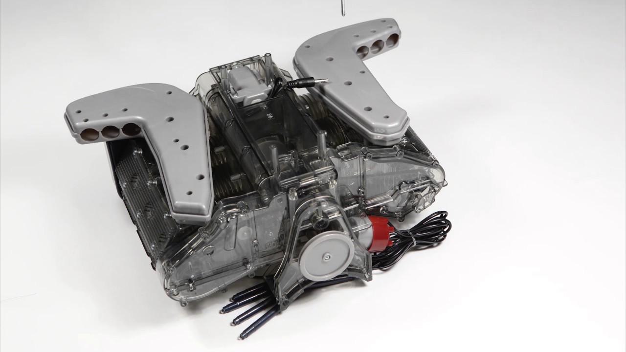 Porsche 6-Zylinder-Boxermotor - Zusammenbau - YouTube