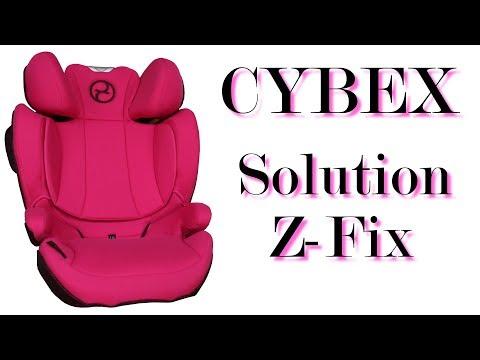 CYBEX Solution Z-Fix (Infos Zum Neuen CYBEX Model Von 2018)