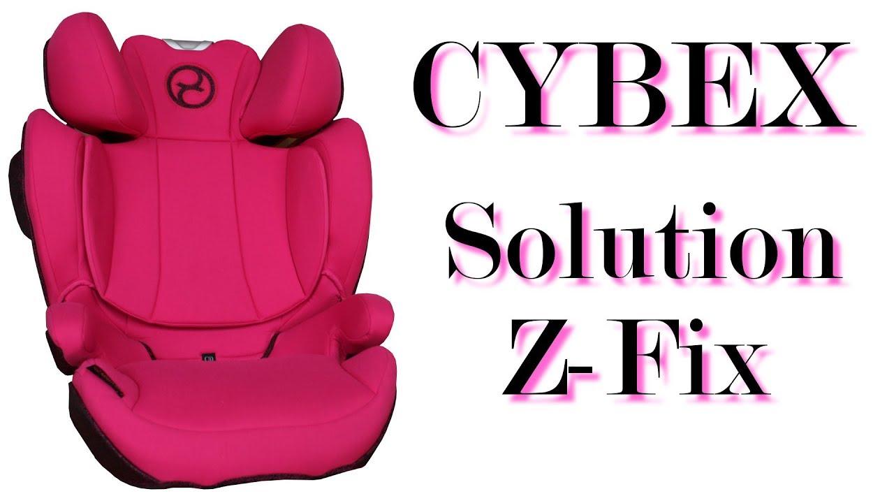 cybex solution z fix infos zum neuen cybex model von 2018 youtube. Black Bedroom Furniture Sets. Home Design Ideas
