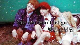 Video [FMV] BTS (방탄소년단) - Say You Won't Let Go download MP3, 3GP, MP4, WEBM, AVI, FLV Juni 2018