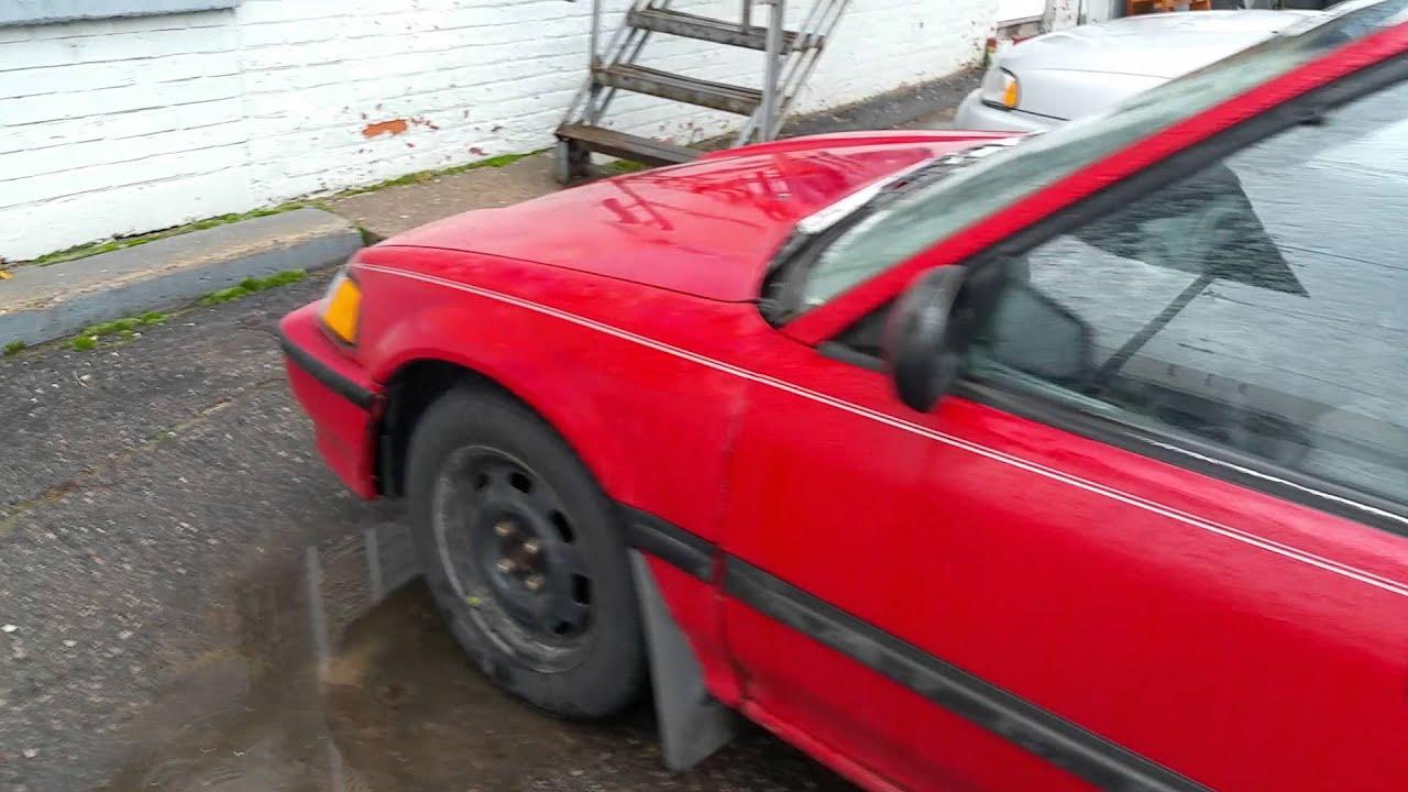 1991 honda civic dx sedan