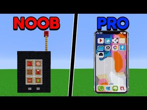 Batalha de Construção: IPHONE X DE NOOB VS IPHONE X DE PRO!