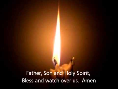 Compline Divine Office or Night Prayer.wmv