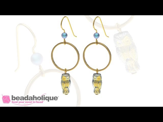 How to Make the Little Night Owl Earrings