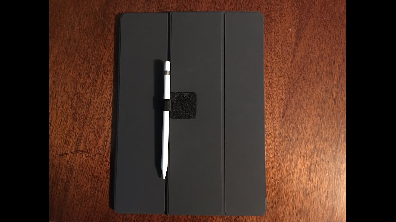 How to Attach Your Apple Pencil to the iPad Pro Smart Keyboard