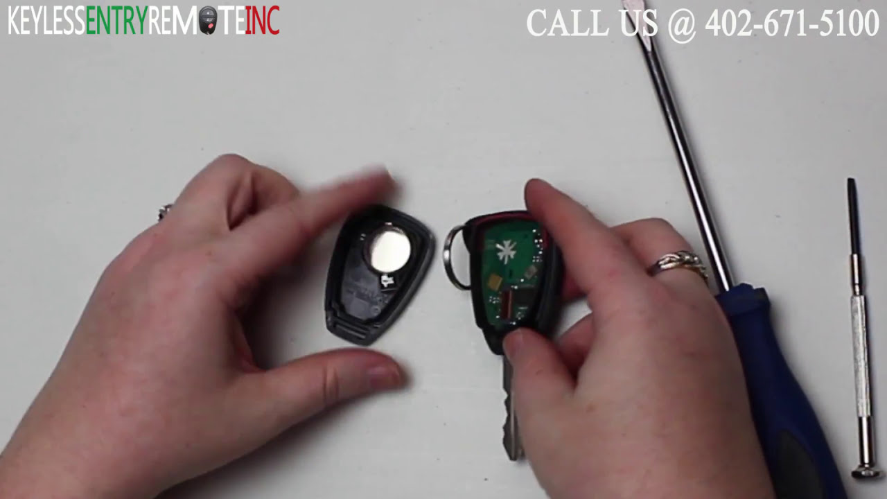 Jeep Key Fob Battery >> How To Replace A 2008 - 2014 Jeep Liberty Key Fob Battery FCC ID OHT692713AA - YouTube