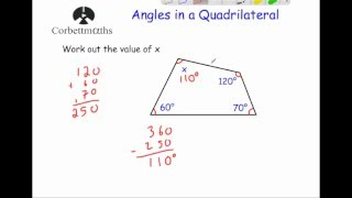 Angles in a Quadrilateral