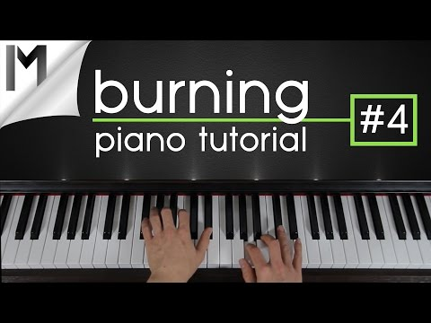 Burning ~ Piano Tutorial ~ Part 4/5 | Ludovico Einaudi