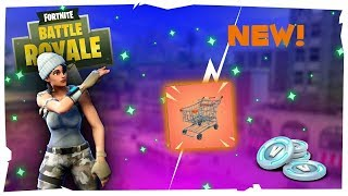 FORTNITE GRATUIT V-BUCKS GIVEAWAY BIJ DE 1000 SUBS/SHOPPING CART'S/REFUND!!!! [lvl80/373WINS]