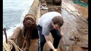 Работа в море 2009(Клип снятый в рейсе., 2012-06-25T02:58:51.000Z)