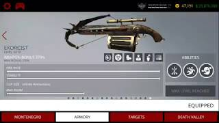 HITMAN SNIPER || Exorcist weapon || Halloween special