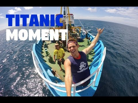 Best Experience Of My Life On A Boat In The Philippines... (TITANIC MOMENT!)