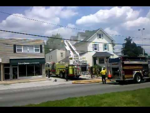 Structure Fire at 1217 W Chester Pike, Havertown PA