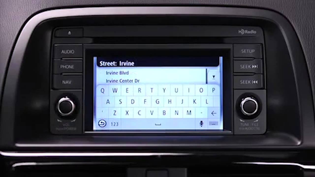 2013 and 2014 cx 5 navigation system tutorial youtube. Black Bedroom Furniture Sets. Home Design Ideas