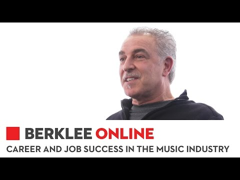 Berklee Online Career and Job Success in the Music Industry Overview
