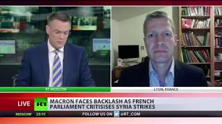 Macron under fire from French Parliament over Syria strikes
