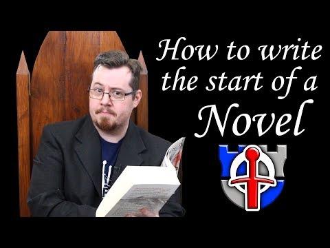 How To Write The Start Of Novel