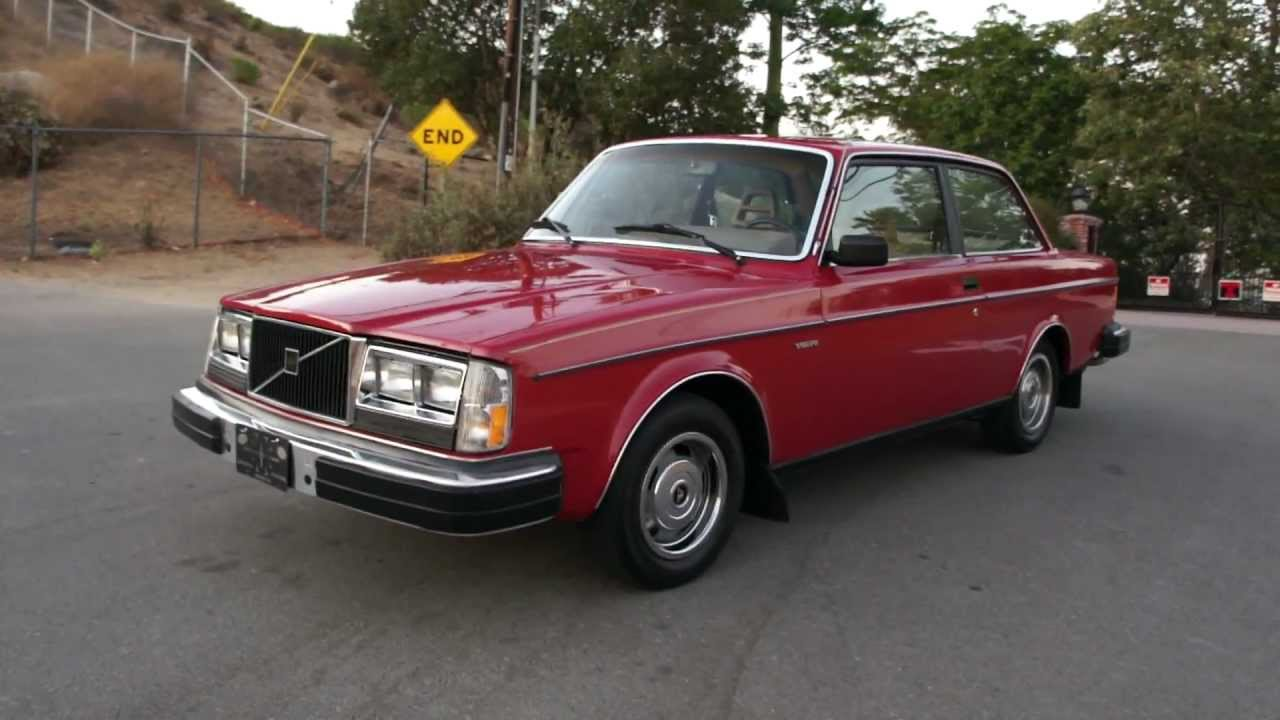 82 volvo 242 dl coupe 240dl 240 262 1 owner xlnt manual 5 speed youtube [ 1280 x 720 Pixel ]